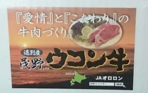 北海道遠別町ウコン牛1
