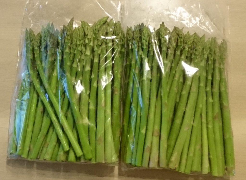 北海道伊達市から『伊達【木須農園】の採れたてグリーンアスパラ約2kg』が届きました
